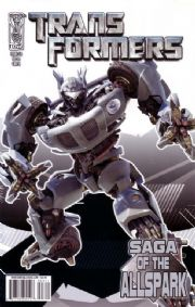 Transformers Saga of the Allspark #3 Cover A (2008) IDW Publishing comic book